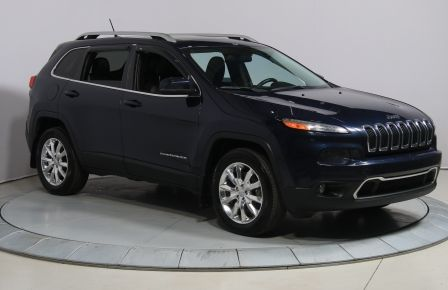 2014 Jeep Cherokee Limited 4WD A/C CUIR TOIT MAGS BLUETHOOT #0