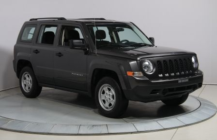2016 Jeep Patriot SPORT 4X4 AUTO A/C #0