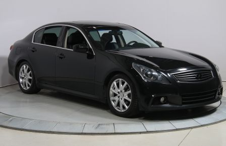 2012 Infiniti G37 X SPORT AWD AUTO A/C CUIR TOIT MAGS BLUETHOOT CAMÉ #0