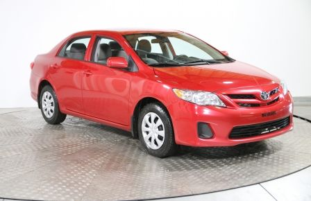 2013 Toyota Corolla CE AC GR ELECT CRUISE SIEGE CHAUFFANT #0
