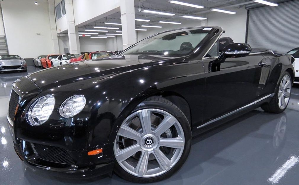 Used 2013 Bentley Continental Gt V8 Convertible For Sale At Hgregoire