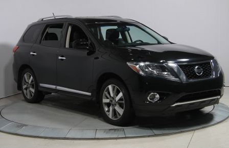 2014 Nissan Pathfinder PLATINUM AWD TOIT OUVRANT DOUBLE BLUETOOTH #0