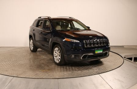 2016 Jeep Cherokee Limited GR ELECT CUIR MAGS BLUETOOTH CAM RECUL #0