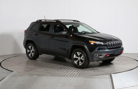 2016 Jeep Cherokee TRAILHAWK AWD V6 CUIR MAGS CAMÉRA DE RECUL #0