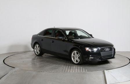 2013 Audi A4 Premium QUATTRO AUTO CUIR TOIT NAVIGATION MAGS BLU #0