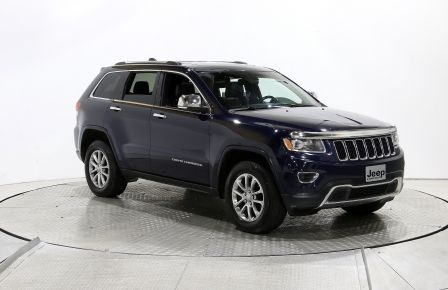 2014 Jeep Grand Cherokee LIMITED 4X4 A/C TOIT CUIR MAGS #0