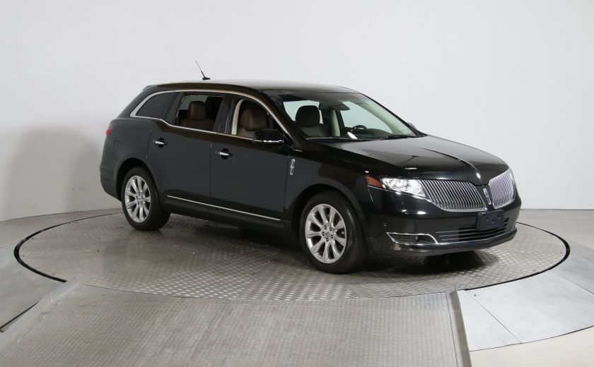 2014 Lincoln MKT EcoBoost A/C CUIR TOIT MAGS BLUETHOOT #0