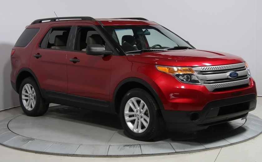 2015 Ford Explorer 4WD A/C BLUETOOTH MAGS 7 PASSAGERS #0