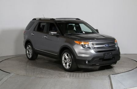 2013 Ford Explorer Limited AC CUIR MAGS NAV 7 PASS #0