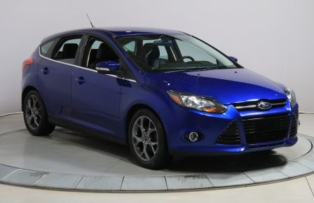 2013 Ford Focus HATCHBACK TITANIUM A/C CUIR CAMÉRA DE RECUL #0