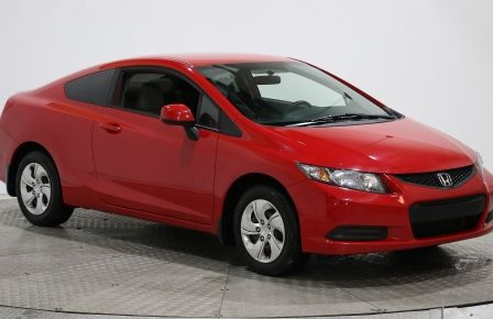2013 Honda Civic LX 2 PORTE AUTO A/C GRP ELEC #0