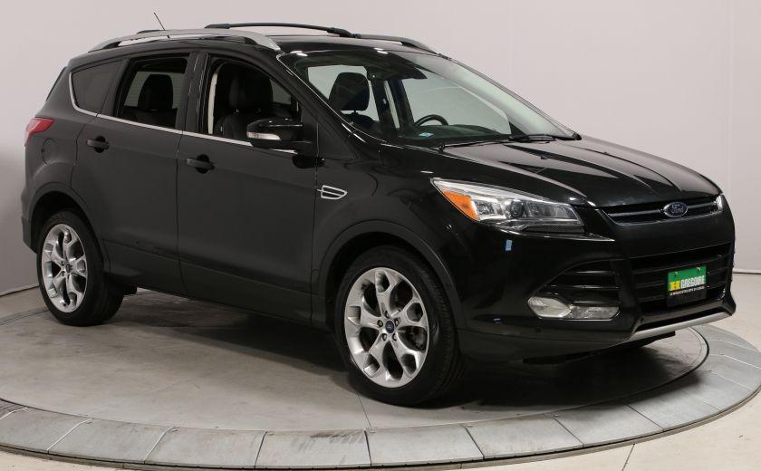 2014 Ford Escape Titanium 4x4 Navi Cuir Toit Demarreur Bluetooth US #0