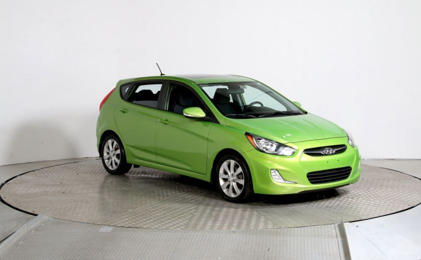 2013 Hyundai Accent GLS AUTO A/C TOIT MAGS BLUETOOTH #0