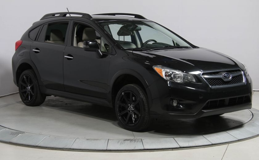 2014 Subaru XV Crosstrek LIMITED AWD CUIR TOIT NAVIGATION #0