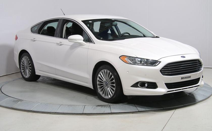2013 Ford Fusion TITANIUM A/C BLUETOOTH NAV CUIR MAGS #0