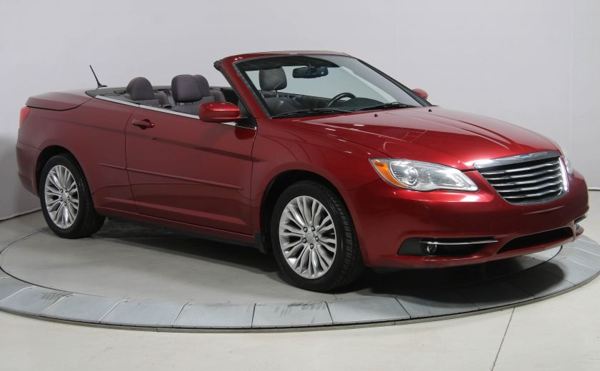 2012 Chrysler 200 Touring A/C GR ELECT MAGS BLUETHOOT CONVERTIBLE #0