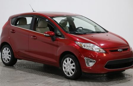 2011 Ford Fiesta SES AUTO A/C CUIR TOIT BAS KILO #0