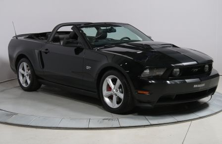 2010 Ford Mustang GT CONVERTIBLE CUIR MAGS #0