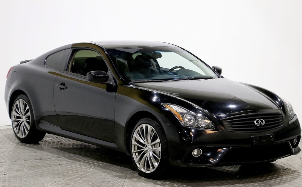 2013 Infiniti G37 COUPE X SPORT AUTO A/C CUIR TOIT MAGS #0