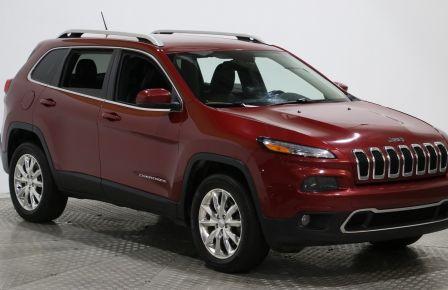 2015 Jeep Cherokee Limited AWD CUIR MAGS CAM DE RECULE NAV #0