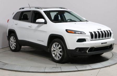 2014 Jeep Cherokee LIMITED 4X4 A/C TOIT CUIR NAV #0