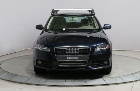 2011 Audi A4 2.0T QUATTRO A/C TOIT CUIR MAGS #0