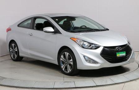 2013 Hyundai Elantra GLS COUPE A/C TOIT CUIR MAGS #0