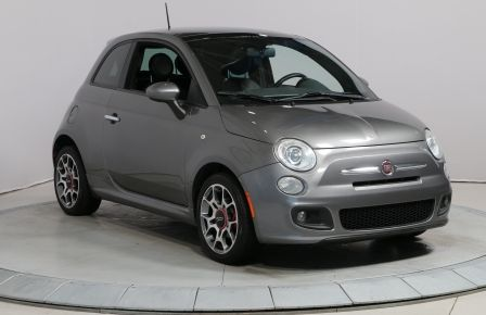 2012 Fiat 500 SPORT AUTO A/C CUIR TOIT MAGS #0