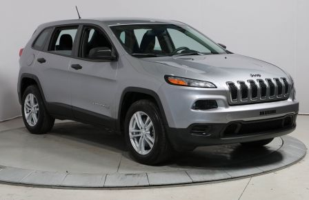 2014 Jeep Cherokee SPORT 4WD A/C BLUETOOTH MAGS #0