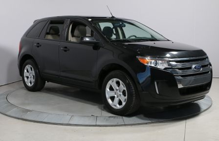 2014 Ford EDGE SEL AWD CUIR TOIT NAV MAGS BLUETOOTH #0