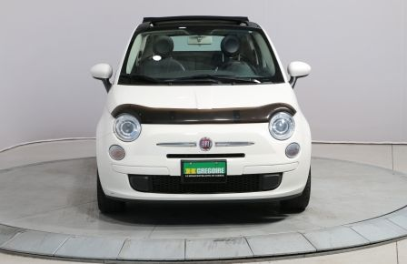 2012 Fiat 500 POP CONVERTIBLE AUTO A/C GR ELECT MAGS #0