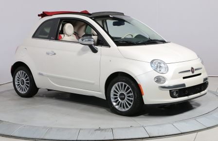 2015 Fiat 500c LOUNGE CONVERTIBLE A/C BLUETOOTH MAGS #0