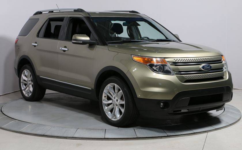 2013 Ford Explorer LIMITED AWD A/C TOIT CUIR MAGS #0