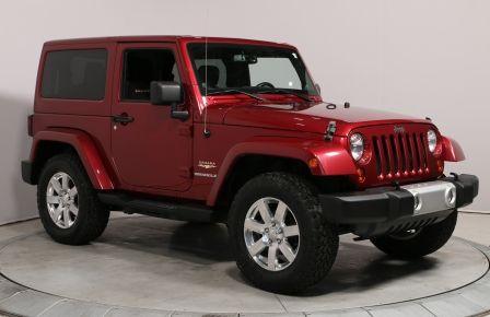 2013 Jeep Wrangler SAHARA 4X4 A/C GR ELECTRIQUE #0