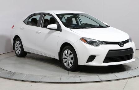 2014 Toyota Corolla LE AUTO A/C BLUETOOTH #0