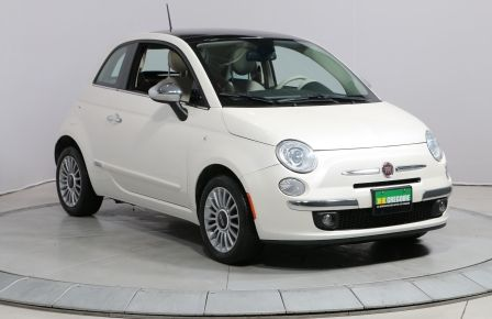 2013 Fiat 500 LOUNGE A/C TOIT CUIR MAGS #0