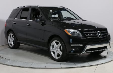 2015 Mercedes Benz ML400 TOIT PANORAMIQUE NAVIGATION CUIR MAGS CAMERA RECUL #0