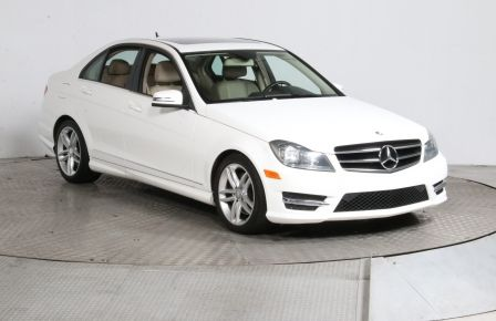 2014 Mercedes Benz C300 AWD CUIR TOIT MAGS BLUETOOTH #0