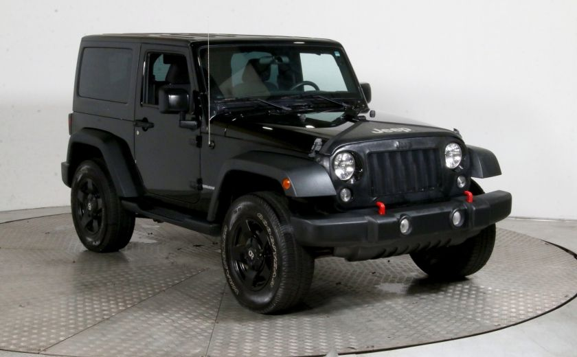 2015 Jeep Wrangler Sport 4WD TOIT MAGS #0