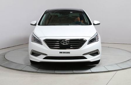 2015 Hyundai Sonata LIMITED CUIR TOIT PANO NAVIGATION CAMÉRA DE RECUL #0
