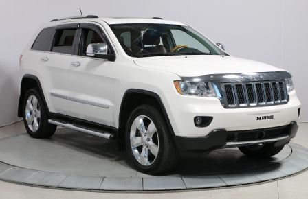 2012 Jeep Grand Cherokee OVERLAND 4WD CUIR TOIT MAGS #0
