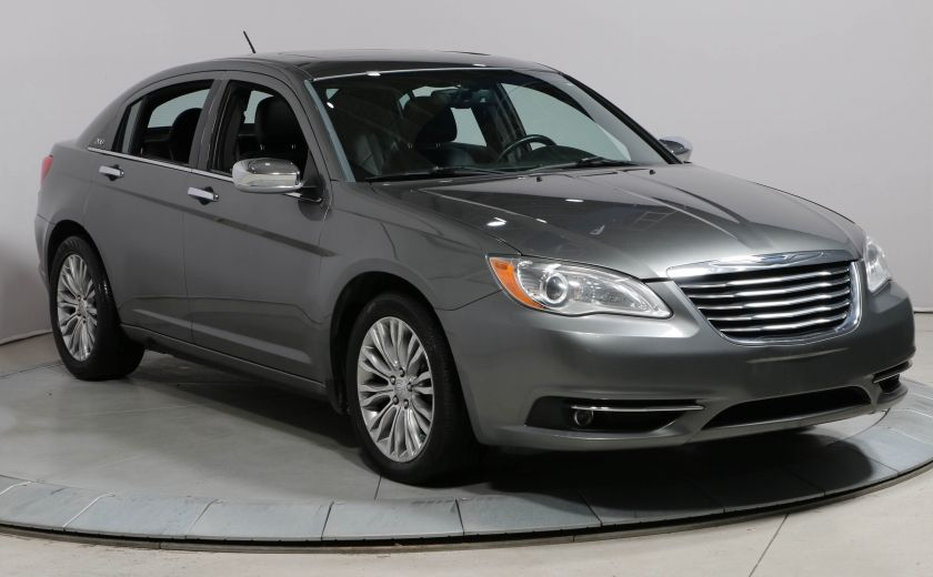 2012 Chrysler 200 LIMITED TOIT CUIR BLUETOOTH MAGS #0