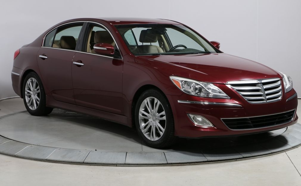 2012 Hyundai Genesis TECH PACKAGE CUIR TOIT NAVIGATION MAGS CAMÉRA DE R #0