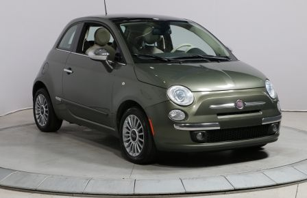 2013 Fiat 500 LOUNGE TOIT CUIR MAGS #0
