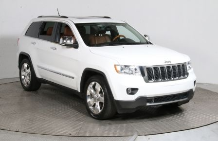 2013 Jeep Grand Cherokee Overland 4WD CUIR TOIT PANO MAGS CAM DE RECULE #0