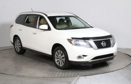 2013 Nissan Pathfinder S 4WD 7 PASSAGERS #0