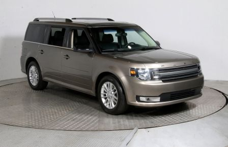 2013 Ford Flex SEL AWD CUIR TOIT MAGS 7 PASSAGERS #0