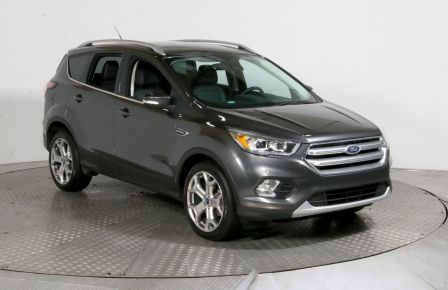 2017 Ford Escape Titanium AWD TOIT PANO MAGS BLUETOOTH #0