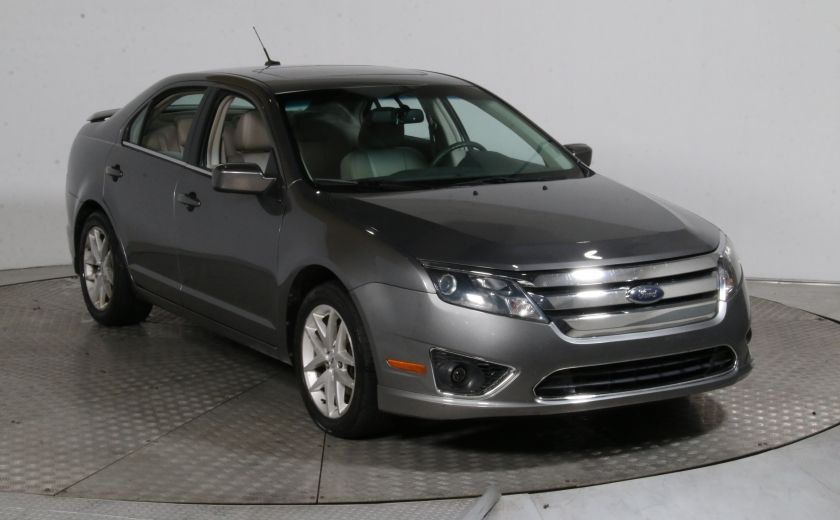 2010 Ford Fusion SEL AWD CUIR TOIT MAGS BLUETOOTH #0