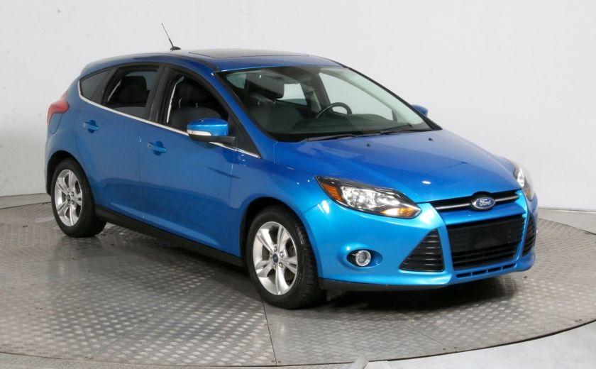 2012 Ford Focus Titanium AUTO A/C TOIT MAGS BLUETOOTH #0